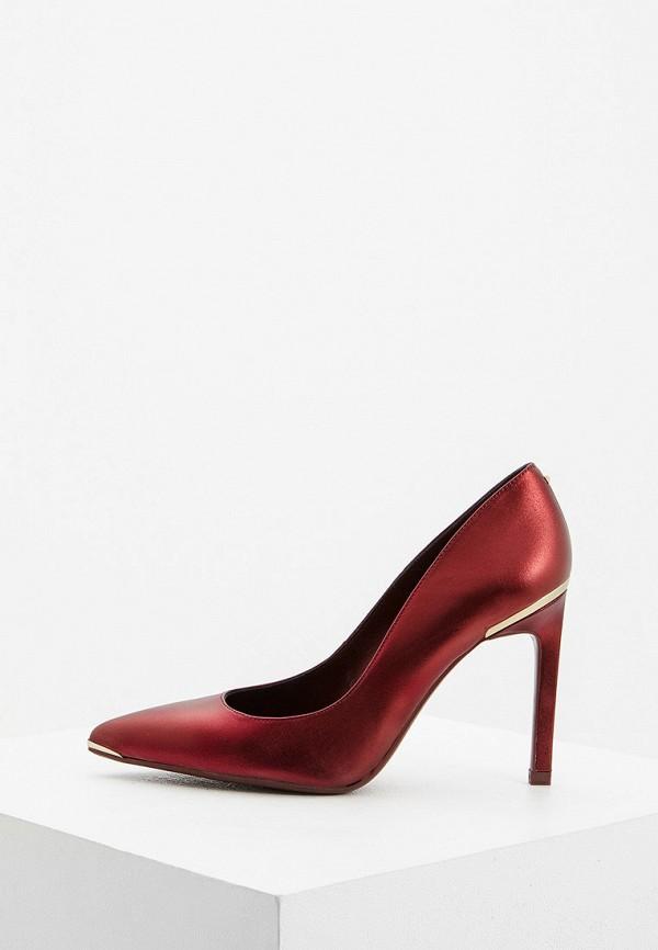 женские туфли ted baker london, бордовые