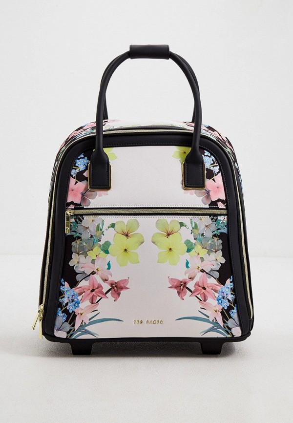 женский чемодан ted baker london, разноцветный