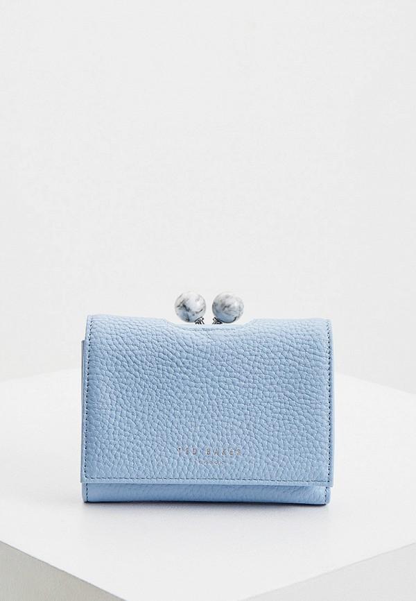 женский кошелёк ted baker london, голубой