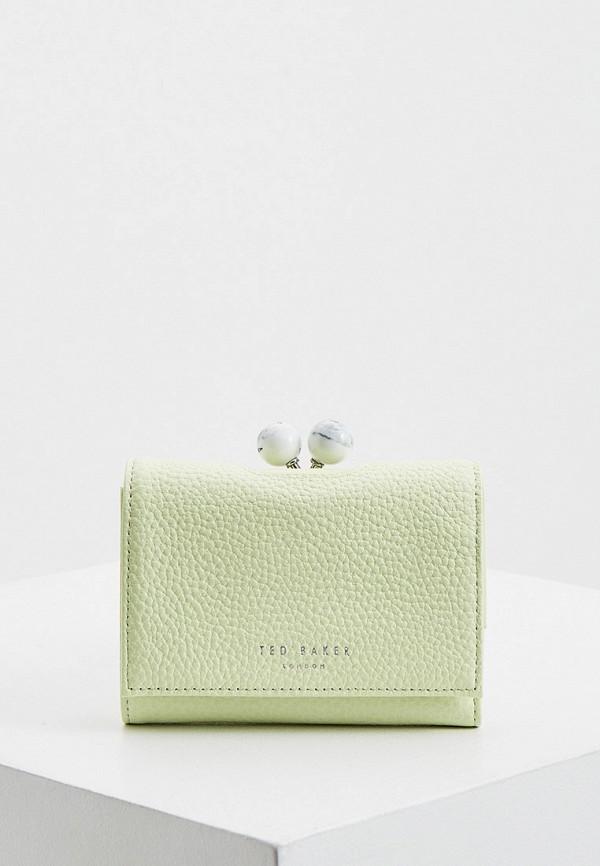 женский кошелёк ted baker london, зеленый