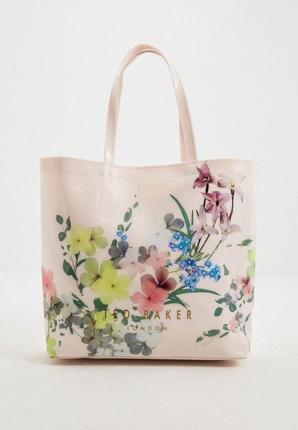 женская сумка ted baker london, розовая
