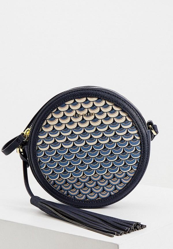 женская сумка ted baker london, синяя