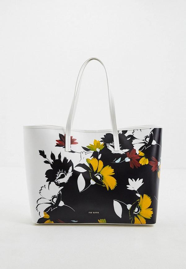 женская сумка-шоперы ted baker london, разноцветная