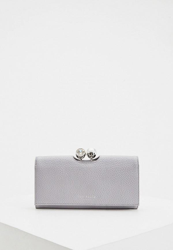 женский кошелёк ted baker london, серый