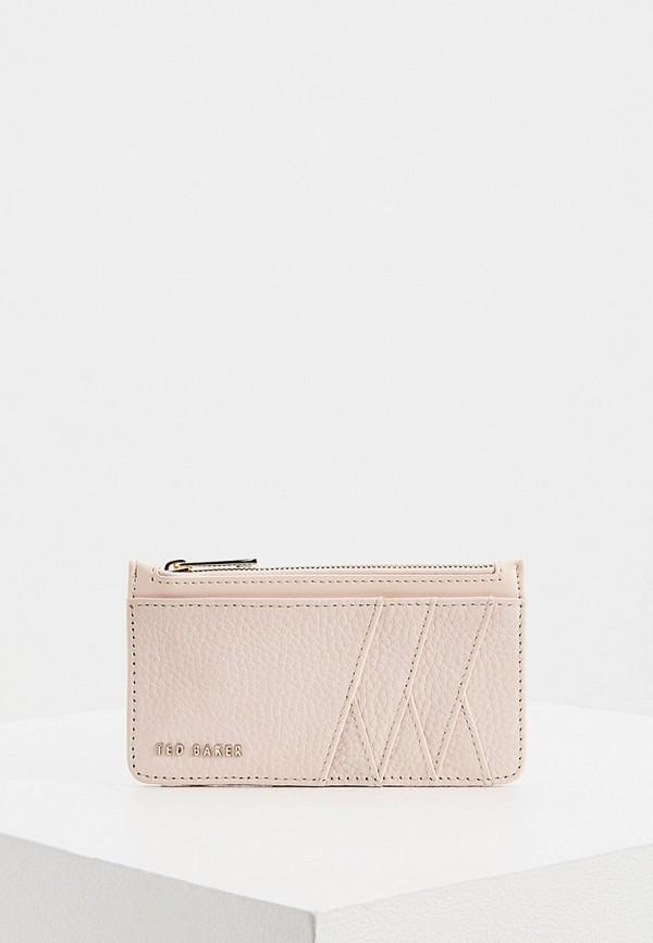 женский кошелёк ted baker london, розовый