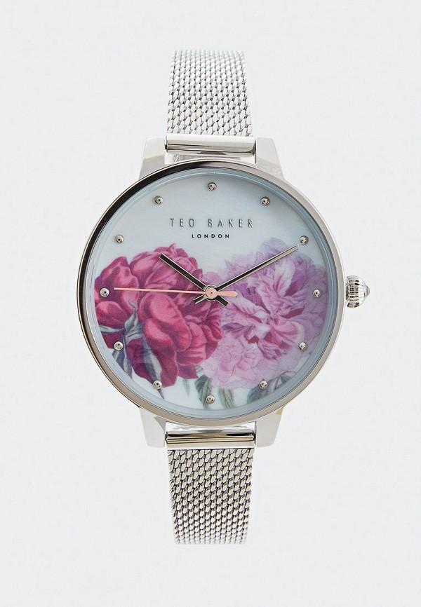 женские часы ted baker london, серебряные