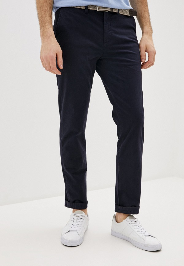 мужские повседневные брюки ted baker london, синие