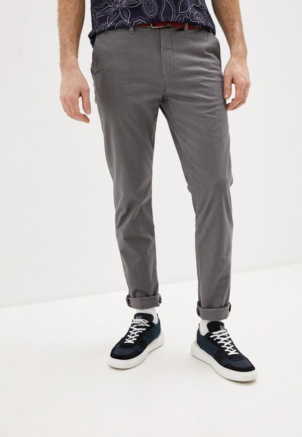 мужские повседневные брюки ted baker london, серые