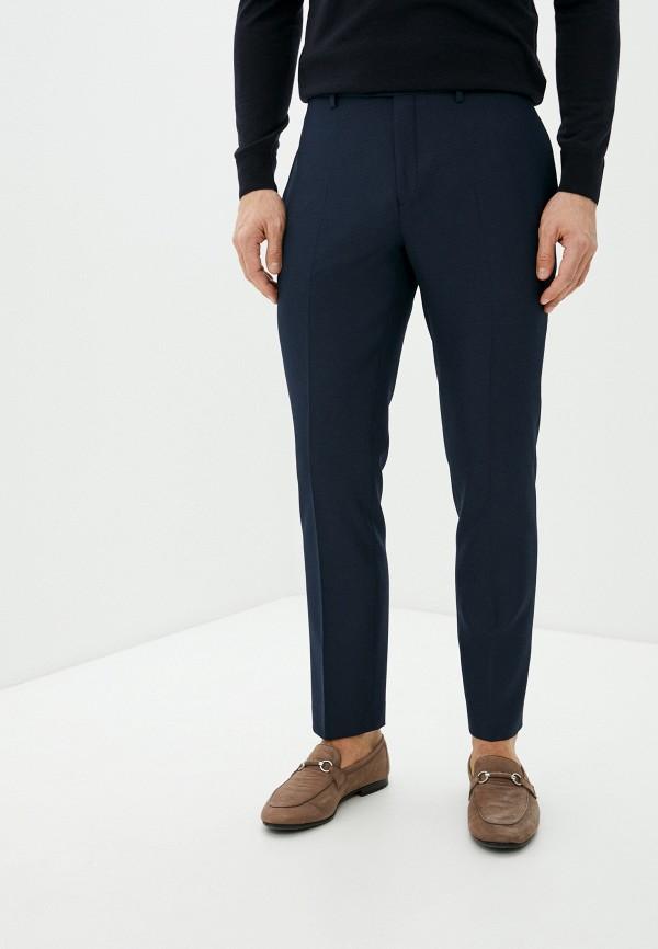 мужские классические брюки ted baker london, синие