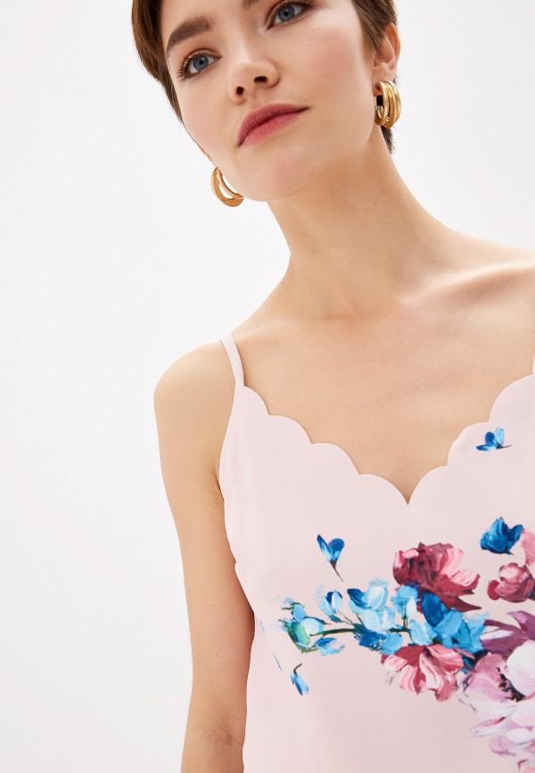 Фото 4 - Женский топ Ted Baker London розового цвета