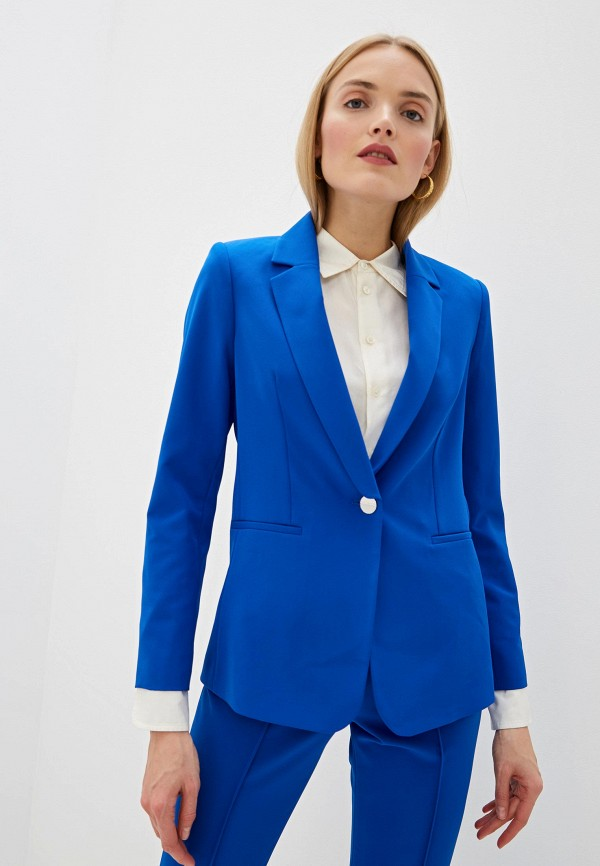 женский пиджак ted baker london, синий