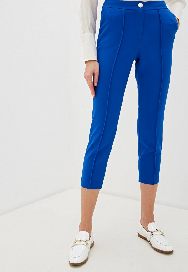 женские классические брюки ted baker london, синие