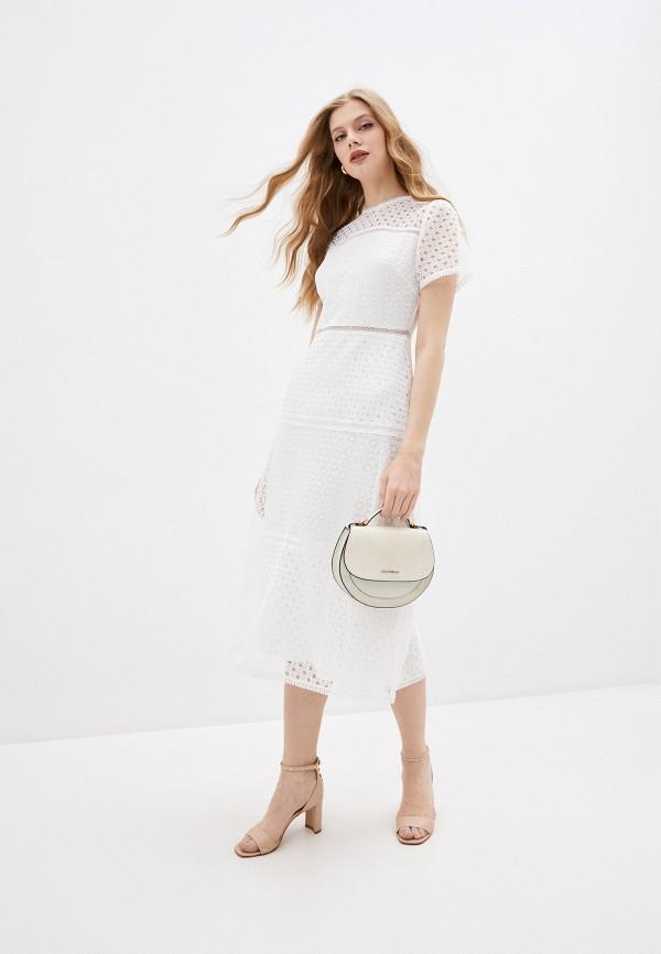 женское повседневные платье ted baker london, белое