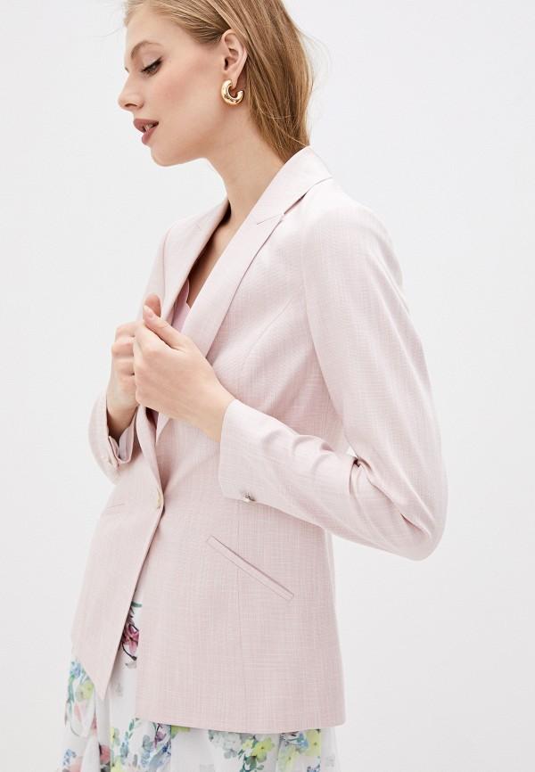 женский пиджак ted baker london, розовый