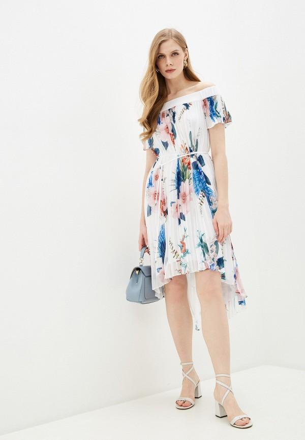 женское платье ted baker london, белое