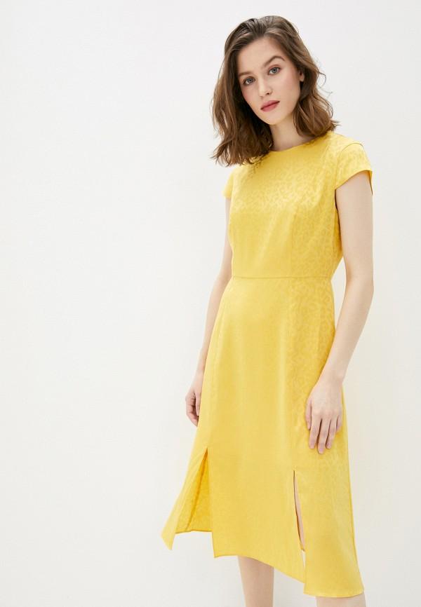 женское повседневные платье ted baker london, зеленое