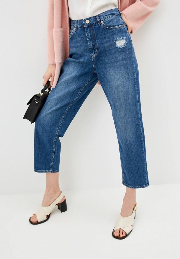 женские прямые джинсы ted baker london, синие
