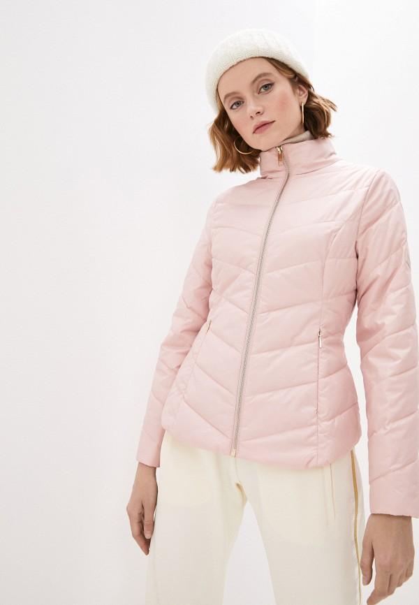 женская куртка ted baker london, розовая