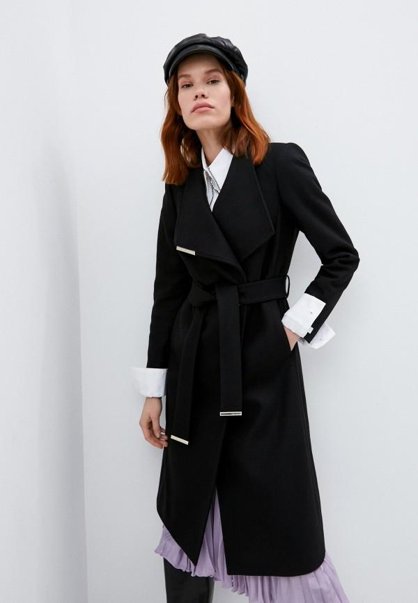 женское пальто ted baker london, черное