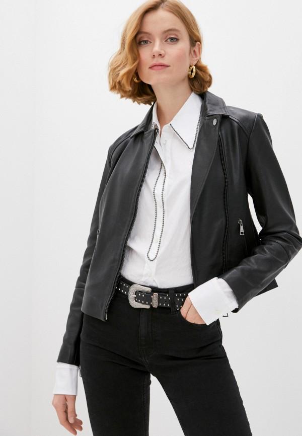 женская куртка ted baker london, черная