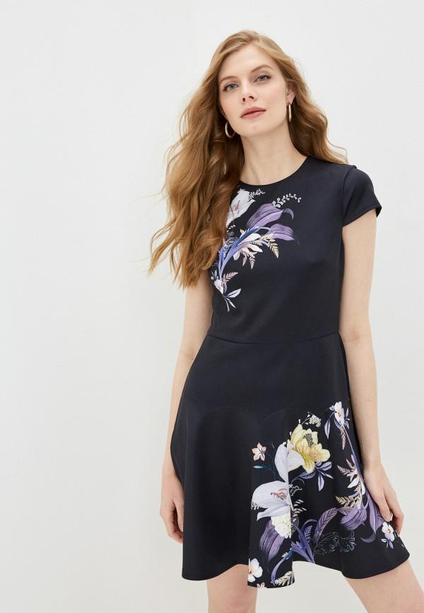 женское повседневные платье ted baker london, черное