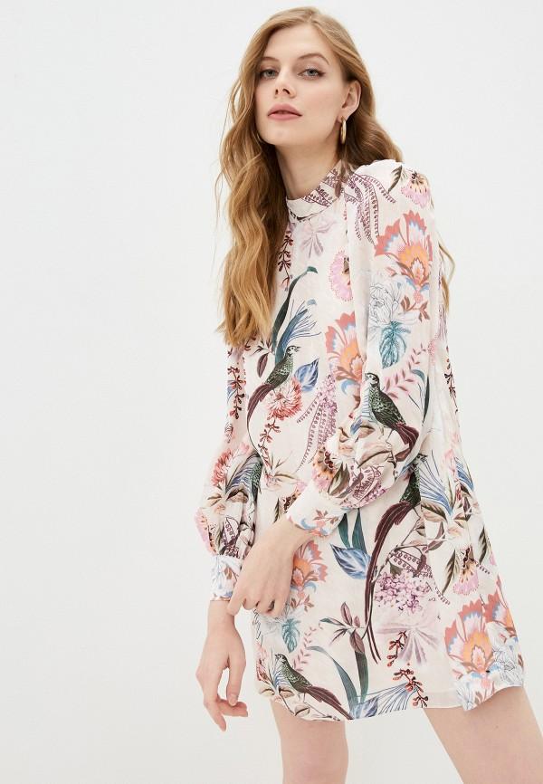 женское повседневные платье ted baker london, розовое