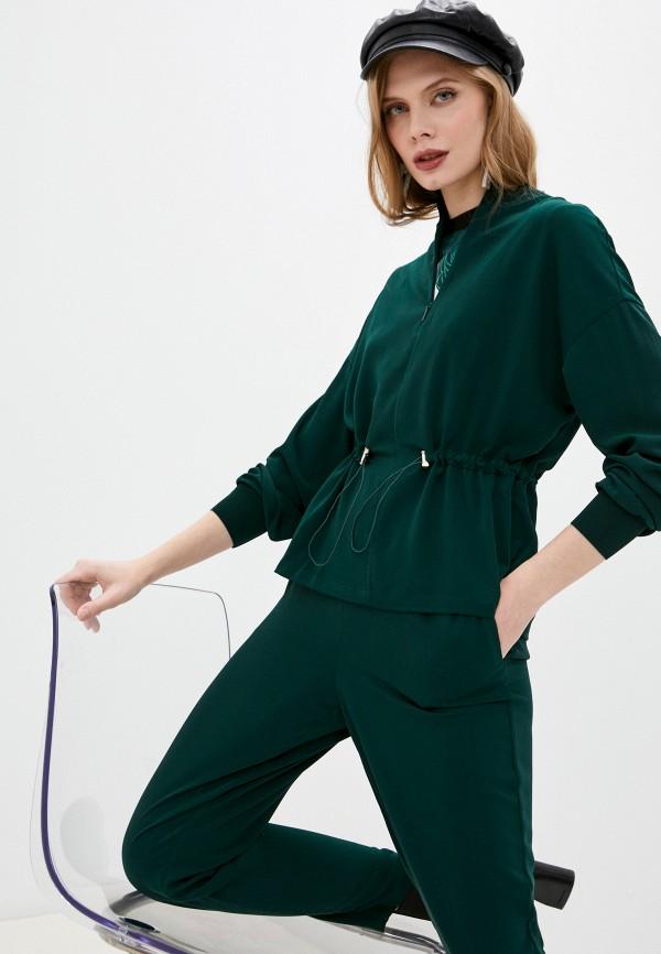 женская блузка ted baker london, зеленая