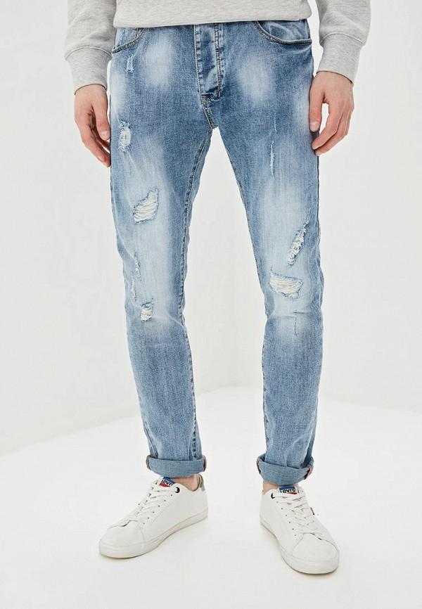 Фото - мужские джинсы Terance Kole голубого цвета