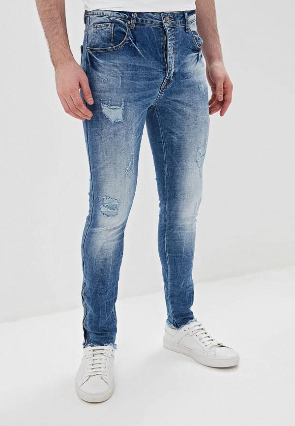 Фото - мужские джинсы Terance Kole синего цвета