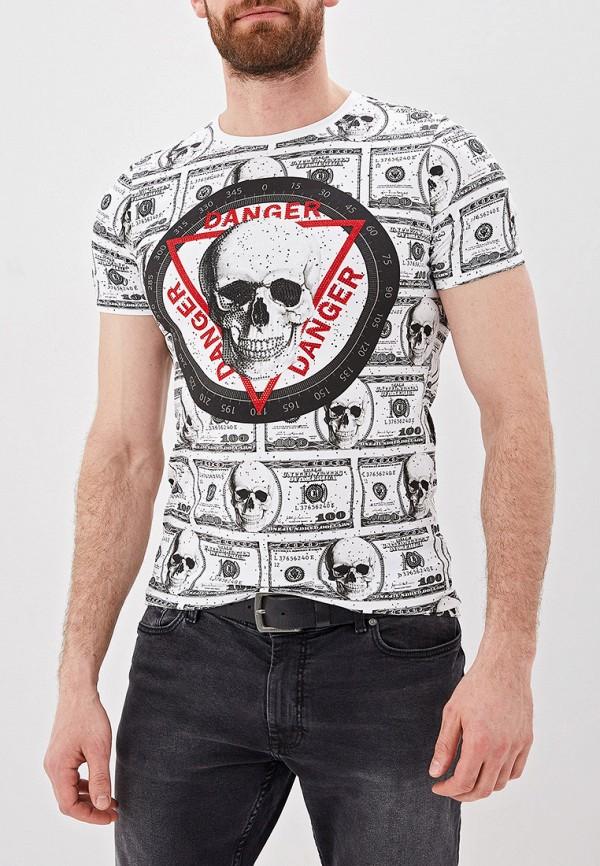 Фото - мужскую футболку Terance Kole белого цвета
