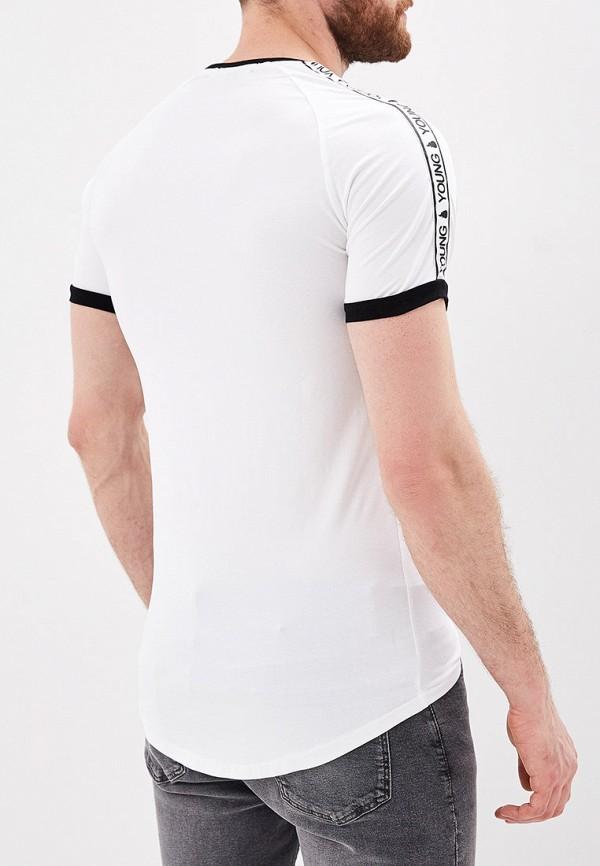 Фото 3 - мужскую футболку Terance Kole белого цвета