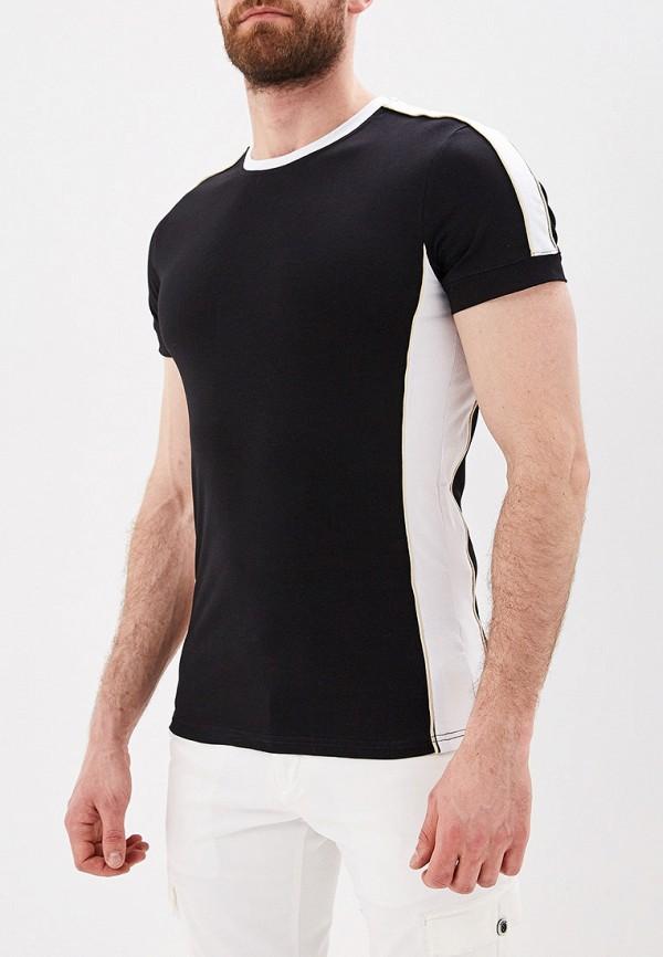 Фото - мужскую футболку Terance Kole черного цвета