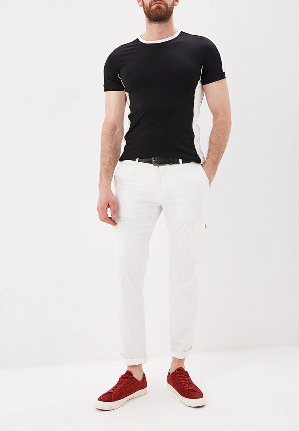 Фото 2 - мужскую футболку Terance Kole черного цвета