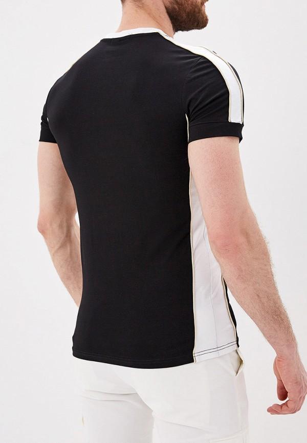 Фото 3 - мужскую футболку Terance Kole черного цвета