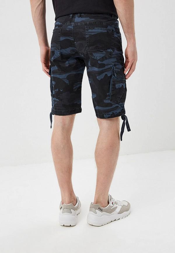 Фото 3 - мужские шорты Terance Kole синего цвета