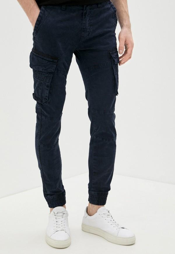 мужские брюки terance kole, синие