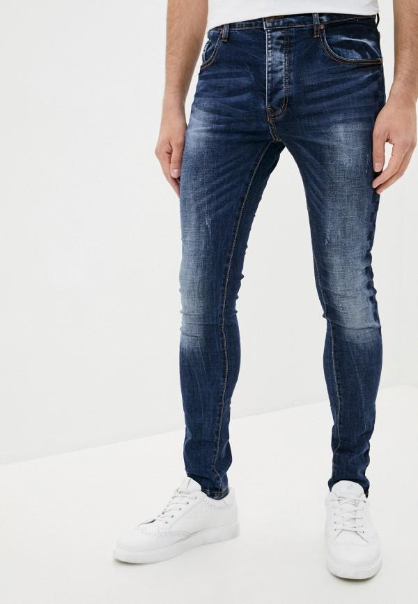 мужские прямые джинсы terance kole, синие