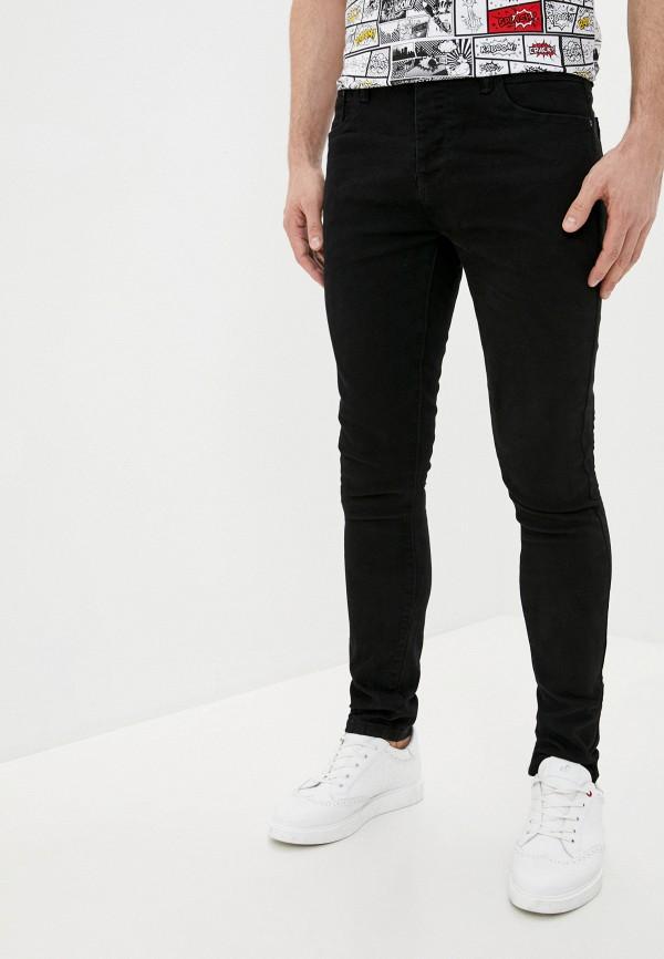 мужские прямые джинсы terance kole, черные