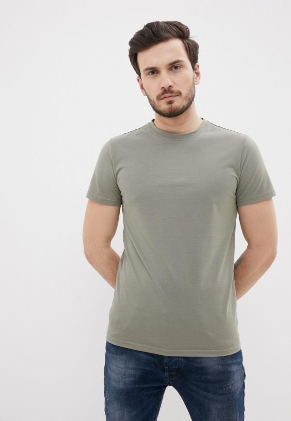 мужская футболка с коротким рукавом terance kole, зеленая