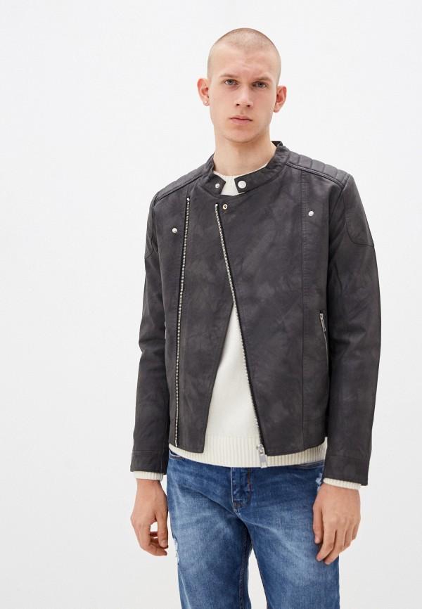 мужская куртка terance kole, серая