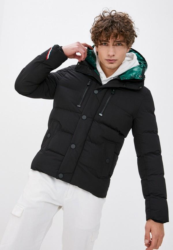 мужская куртка terance kole, черная