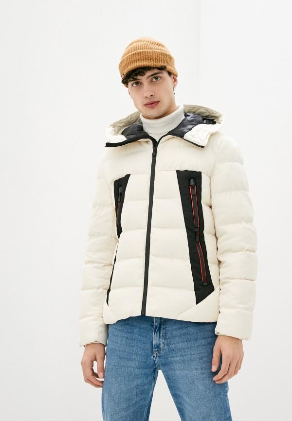 мужская куртка terance kole, бежевая