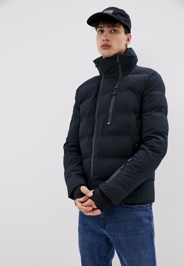 мужская куртка terance kole, синяя