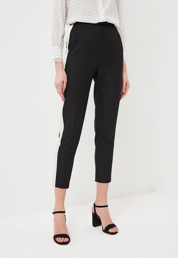 женские повседневные брюки terekhov girl, черные