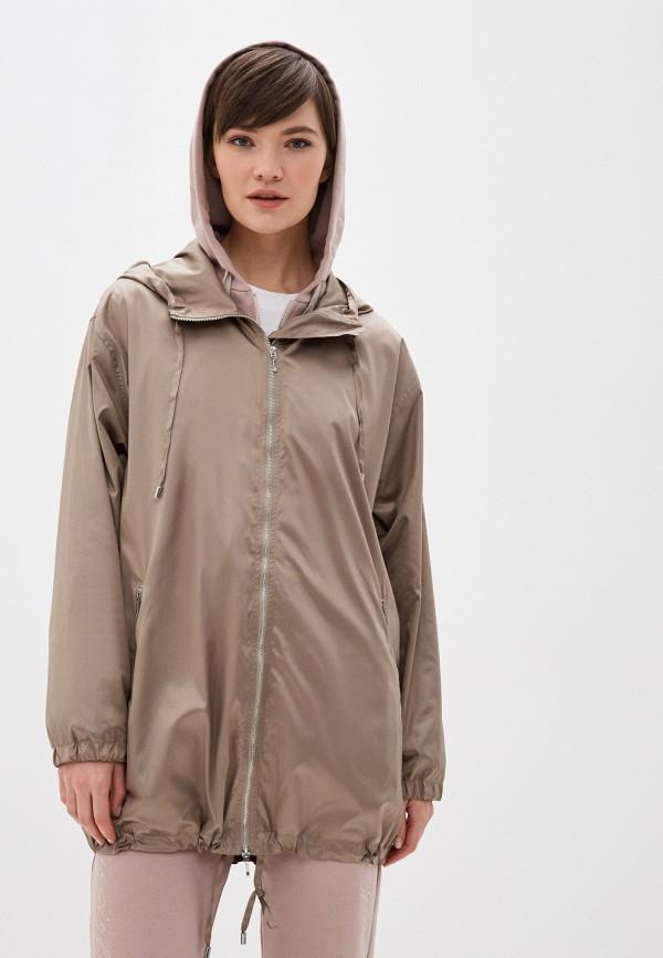 женская куртка terekhov girl, бежевая