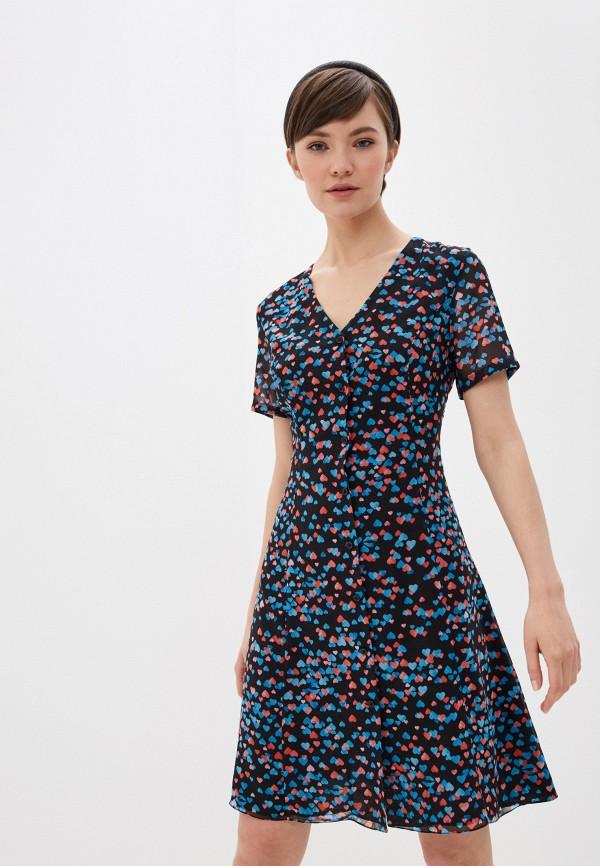 женское повседневные платье terekhov girl, разноцветное