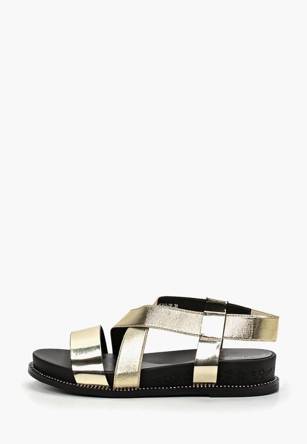 женские сандалии teetspace, золотые