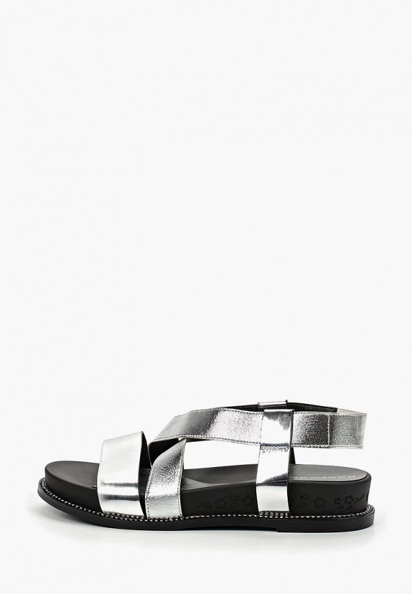 женские сандалии teetspace, серебряные