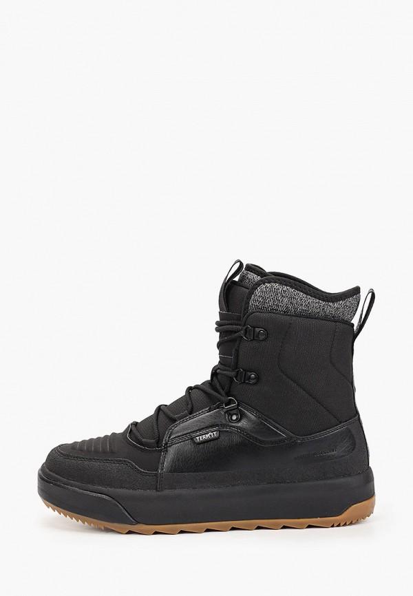 Купить Мужские ботинки и полуботинки Termit черного цвета
