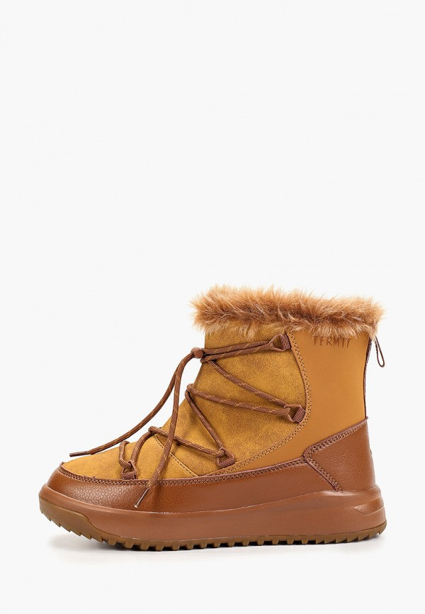 женские ботинки termit, коричневые